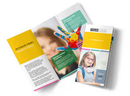 Education Brochure Templates Child Education Tri Fold Brochure Template