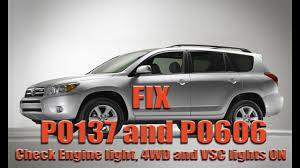 P0137 & P0606 fix   Toyota Rav4   Oxygen sensor DIY   Engine Light ...