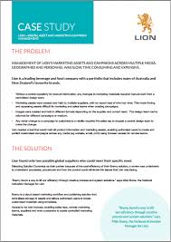 Case study with solution on marketing        Original