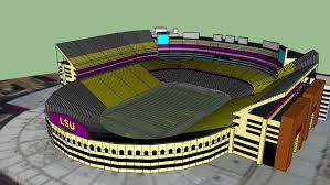 Lsu Stadium Seating Chart 3d 18 Cogent Lsu 3d Seating