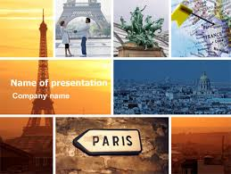 photo collage template powerpoint paris in collage powerpoint template backgrounds 05425
