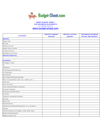 Monthly Business Expenses Income And Expenses Spreadsheet Monthly Business Expense Worksheet