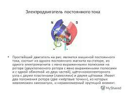 Презентация на тему Главное управление образования и науки  7 Электродвигатель постоянного