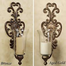 circular wall candle holder awesome lighting antique candle sconces for home lighting ideas
