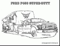 lifted ford truck coloring pages