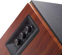 Edifier R1700BT Bluetooth Bookshelf Speakers - Active Near-Field Studio  Monitors - Powered Speakers 2.0 Setup Wooden Enclosure - 66w RMS: Home  Audio & Theater - Amazon.com