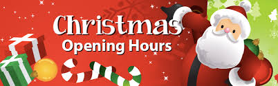 Image result for christmas opening times