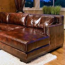 saddle leather couch saddle brown leather sectional with right facing chaise sec saddle leather couch and