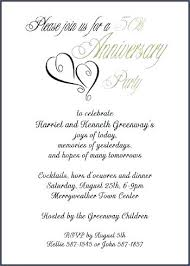 Wedding Anniversary Invitations Templates Elegant Gold Party Card