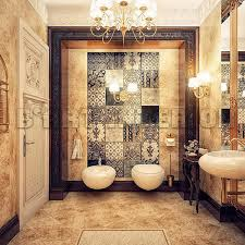 bathroom design ideas luxurious home classic decoration lighting stained varnished toilet expensive elegant double mirror bathroom e69 mirror