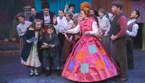 Mary Poppins Musical Costume Design Mary Poppins Steps In Time At Hillbarn Theatre The