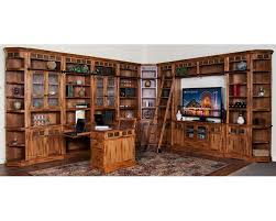 home office library furniture. Sunny Designs Sedona Library Wall SU-2966ROs Home Office Furniture B