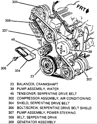 similiar belt routing for 3800 series 3 keywords serpentine belt diagram likewise 3800 series 2 engine diagram on 3800