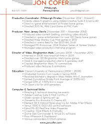 Resume For Video Production Tv Production Manager Resume Best Of Video Production Resume 14