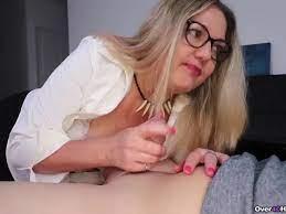 Busty Blonde Milf Handjob