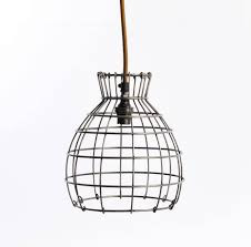 Gorgeous Wire Pendant Light In House Decorating Plan Light Wire intended  for Chicken Wire Pendant Lights
