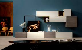 wall unit furniture living room. Living Room, Contemporary Blue Room Wall Unit Storage Furniture Cupboard