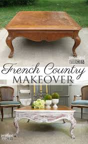worn out coffee table gets french country makeover by prodigal pieces prodigalpieces com