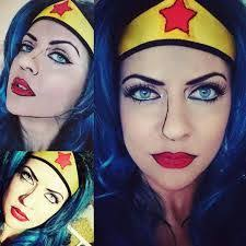 very cool pop art wonder woman capn america pop art ic book costume makeup tutorial you wonder woman pop art make up tutorial natalietutorials