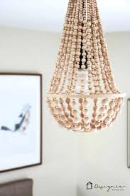 wood bead chandelier diy large size of bead chandelier white beaded chandelier flush mount world wooden