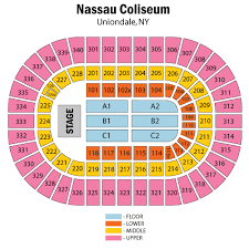 Old Nassau Coliseum Seating Chart Toronto Raptors At Brooklyn Nets 2019 10 18 In 1255
