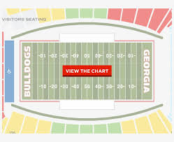 Xfinity Theater Seating Chart With Seat Numbers Share Seat Number Sanford Stadium Seating Chart