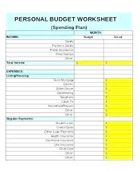 Household Expenses Spreadsheet Excel Income Expenses Spreadsheet Template Excel And Personal