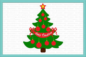 christmas family tree svg merry christmas file for cut dxf exle image 1