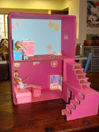 doll furniture recycled materials. Introduction: Dollhouse From Boxes And Cardboard Doll Furniture Recycled Materials
