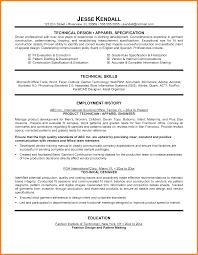 Resume Template Technical Resume Format Diacoblog Com