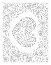 Symbols of valentine's day coloring pages include hearts coloring pages, doves coloring pages, and winged cupid coloring. Valentine S Day Coloring Pages Free Printable Pdf From Primarygames