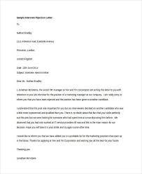 14+ Polite Rejection Letter - Free Sample, Example Format Download ...