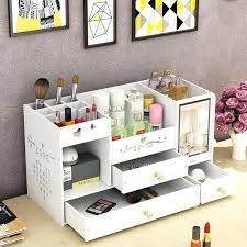 makeup storage bag india desk jars for brushes tabletop dressing box with mirror end 4 pm furniture winning skincare