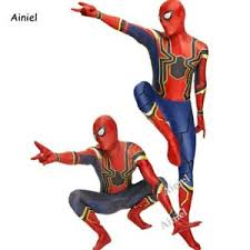 Image Is Loading Spider Man Homecoming Costume Tom Holland Iron SpiderMan