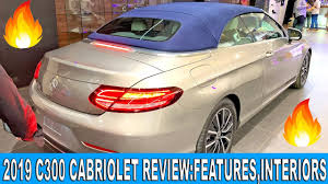 Check car launches, upcoming cars and new car prices in 2021, car news at cartrade. 2019 Mercedes C Cabriolet Review C300 Cabriolet Price Features Interiors India Youtube