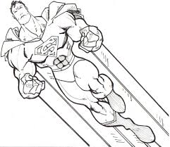 Make this superman coloring page the best! Free Printable Superman Coloring Pages For Kids