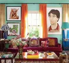 jeffrey bilhuber burgundy furniture decorating ideas