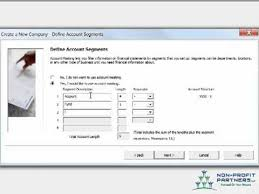 Accounting Sage Peachtree Chart Of Accounts Structure Mp4
