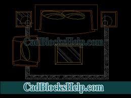 sofa floor coffee table cad blocks