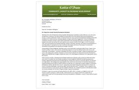 Cover Letter Non Profit Letters Vancouver Sample Katie Exceptional