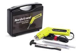 foam cutter 200w nordstrand pro electric hot knife styrofoam foam cutter tool 2 blades