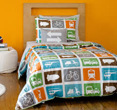 amazing dwell studio kids bedding transportation duvet set kids