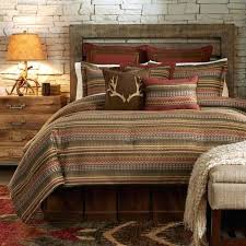 cabin comforter sets interesting rustic bedding glamorous with regard log plan lodge theme quilt browning country
