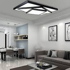 modern ceiling lighting uk. ecolight™ 24w 90~265v square flush mount led modern contemporary ceiling light lighting uk t