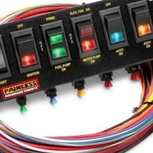painless performance acirc cent wiring harnesses switches kits com painless perf ceacircreg rocker switch panel for extreme condition harness