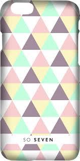 <b>Клип</b>-<b>кейс So Seven</b> Graphic Pastel принт Triangle для <b>Apple</b> ...