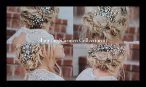 bridal hair accessory collection from hair es the bride
