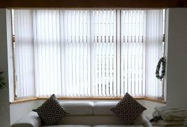 Blinds In Bay Windows  Home Decorating Interior Design Bath Bay Window Vertical Blinds