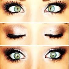 green eye make up rosy toned neutrals look great for green eyes