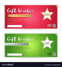 Gift Certificate Template With Logo Gift Voucher Or Gift Certificate Template